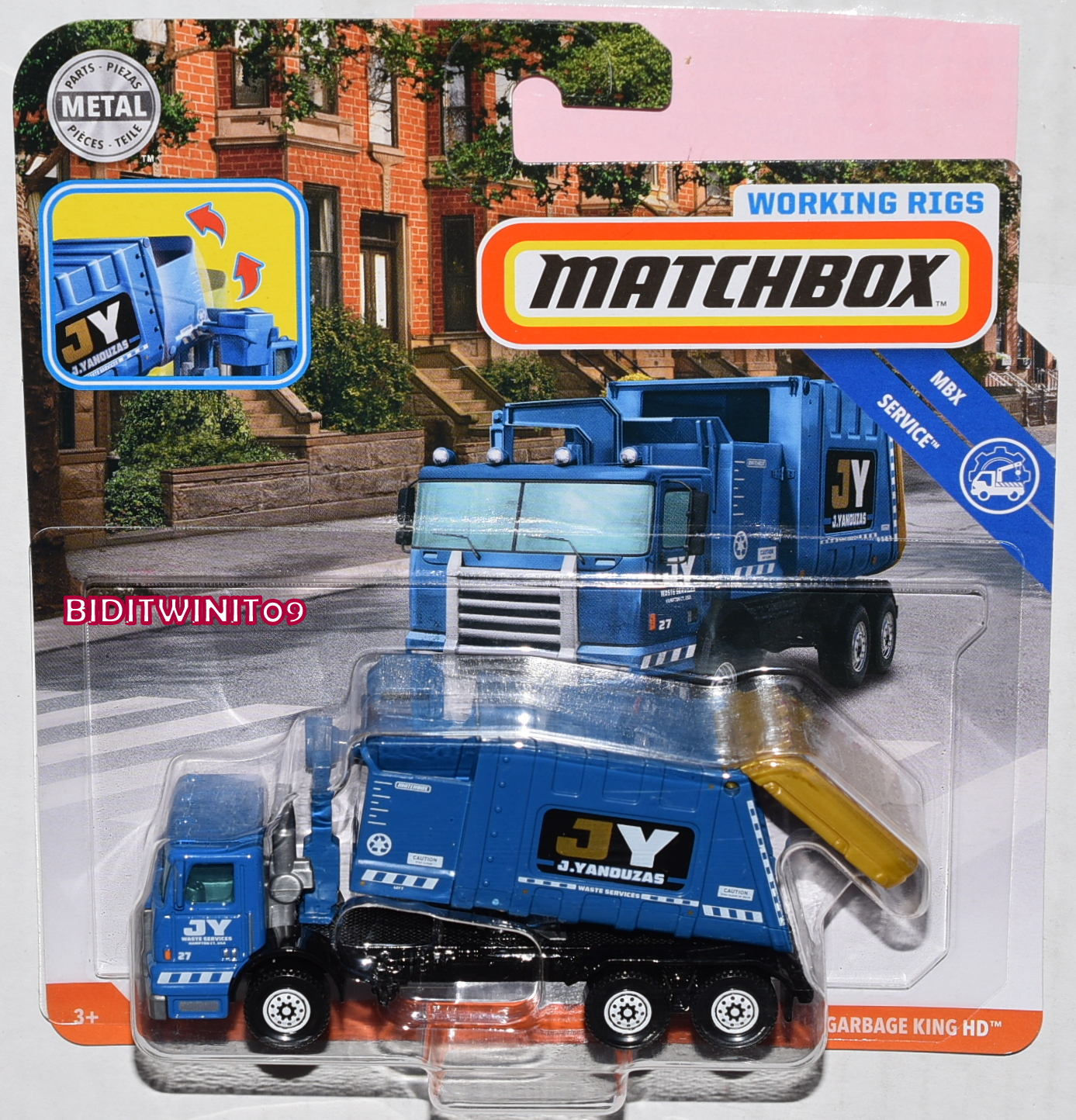 MATCHBOX 2019 WORKING RIGS MBX SERVICE GARAGE KING HD