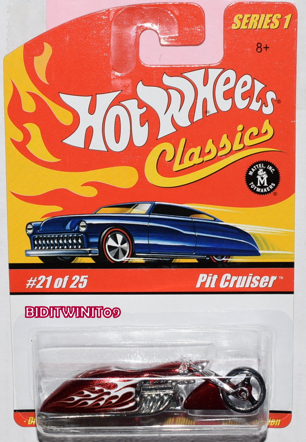 HOT WHEELS CLASSICS SERIES 1 #21/25 PIT CRUISER RED