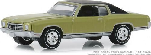GREENLIGHT MUSCLE SERIES 22 1971 CHEVROLET MONTE CARLO SS 454 (PRE-ORDER)