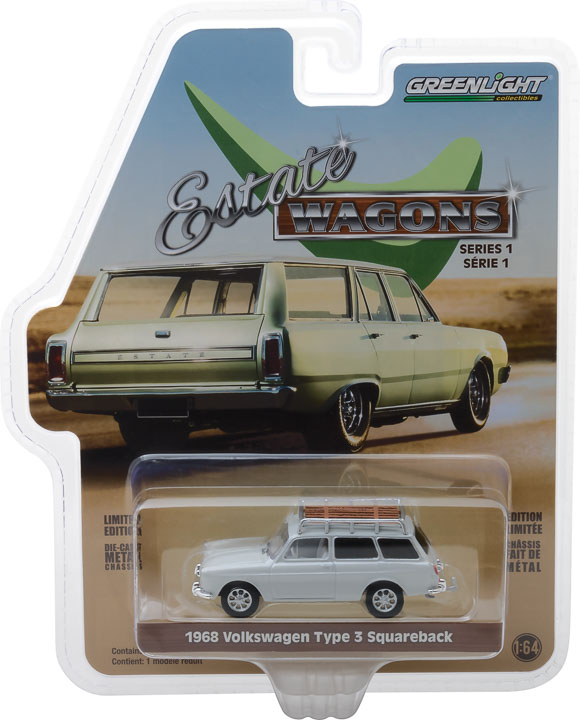 GREENLIGHT ESTATE WAGON 1968 VOLKSWAGEN TYPE 3 SQUAREBACK LOTUS (PRE-ORDER)