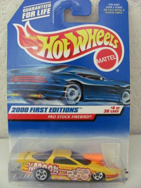 HOT WHEELS 2000 FIRST EDITIONS PRO STOCK FIREBIRD