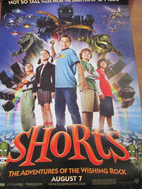 MOVIE POSTER SHORTS 27X 40 ADVENTURES OF THE WISHING RO