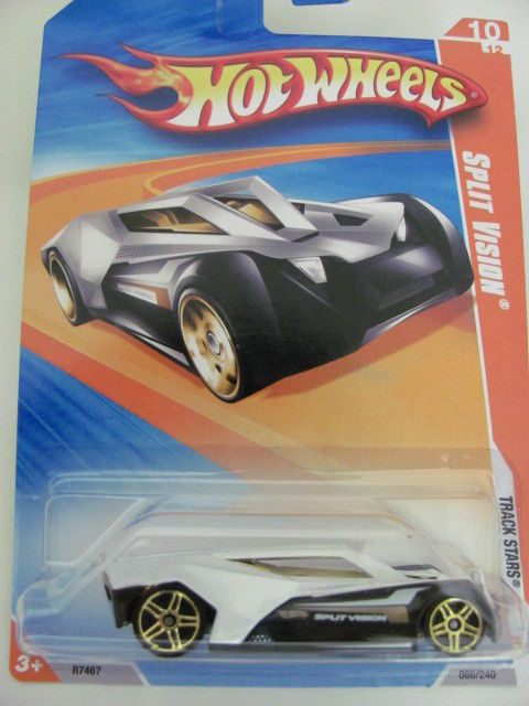 HOT WHEELS 2010 #10/12 SPLIT VISION - TRACK STARS