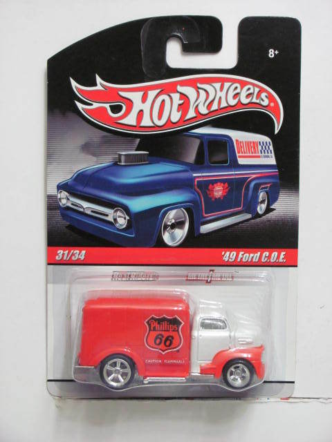 HOT WHEELS DELIVERY 31/34 '49 FORD C.O.E.
