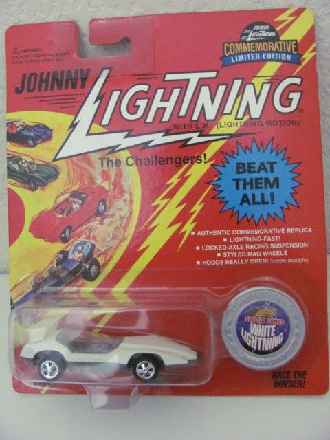 JOHNNY LIGHTNING WHITE LIGHTNING CUSTOM SPOILER 1995