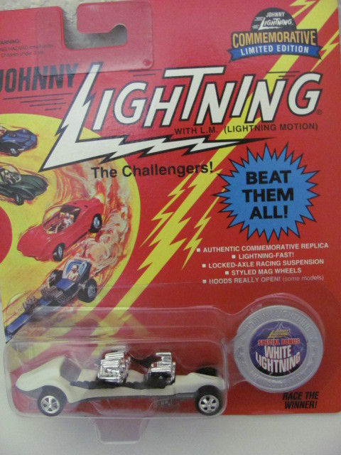 JOHNNY LIGHTNING WHITE LIGHTNING 1995 TRIPLE THREAT