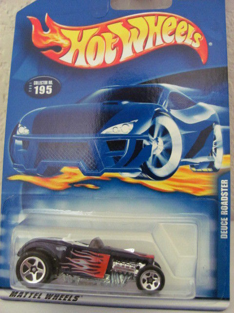 HOT WHEELS 2001 DEUCE ROADSTER #195