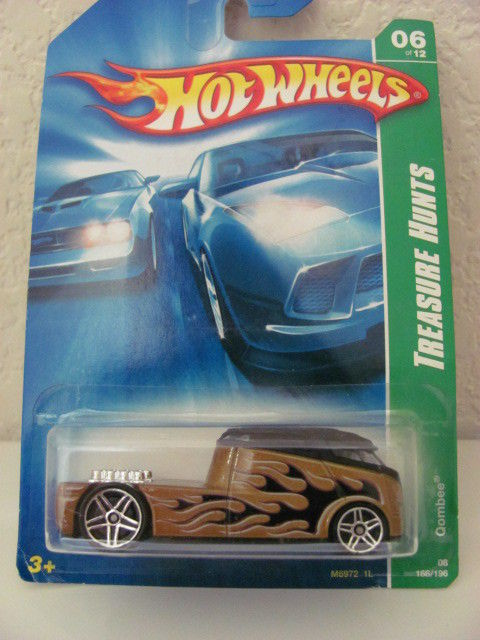 HOT WHEELS 2008 TREASURE HUNT #06/12 QOMBEE REG.