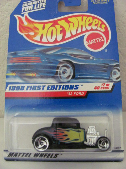 HOT WHEELS 1998 FIRST EDITIONS #636 '32 FORD #7 OF 40
