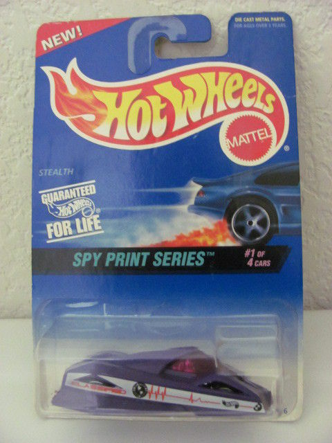 HOT WHEELS 1997 #1 SPY SPRINT SERIES STEALTH