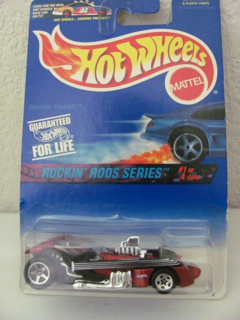 HOT WHEELS 1997 #01/04 ROCK RODS SERIES TWANG THANG