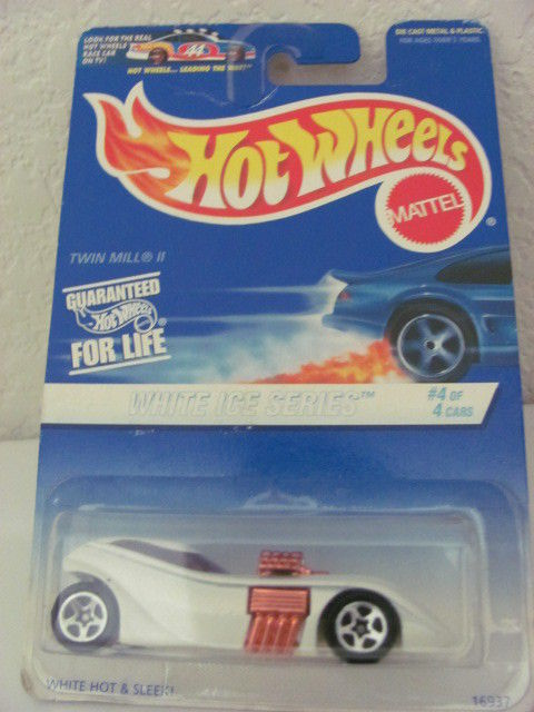 HOT WHEELS 1997 WHITE ICE SERIES #4 OF 4 TWIN MILL II