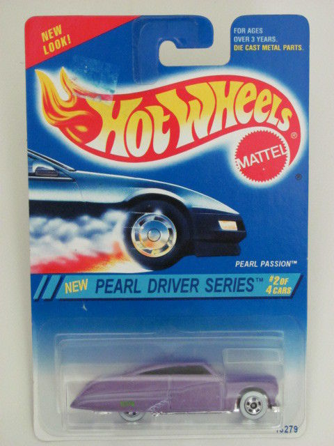 HOT WHEELS 1994 PEARL DRIVER SERIES PEARL PASSION #2/4