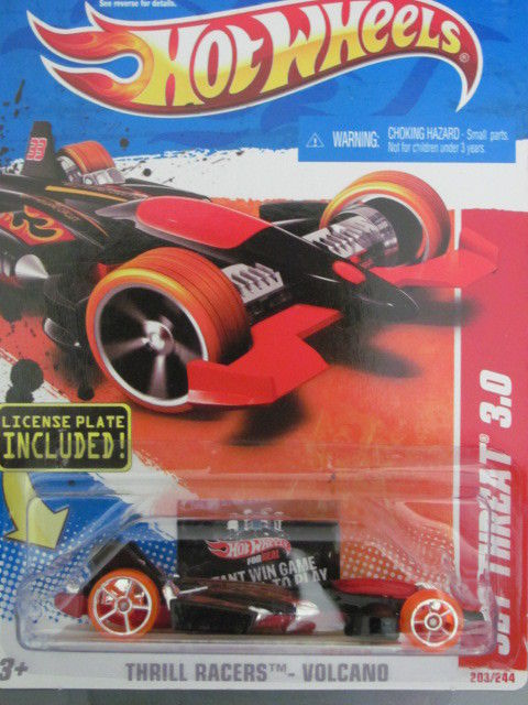 HOT WHEELS 2011 THRILL RACERS VOLCANOJET THREAT 3.0