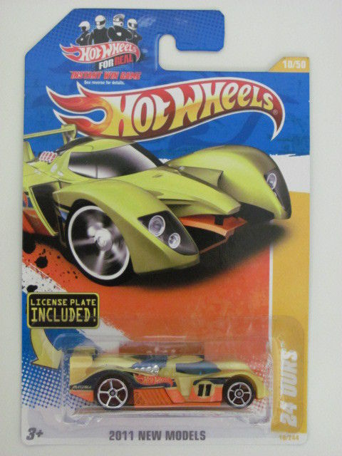 HOT WHEELS 2011 NEW MODELS #10/50 24 OURS W/LICENSE E+