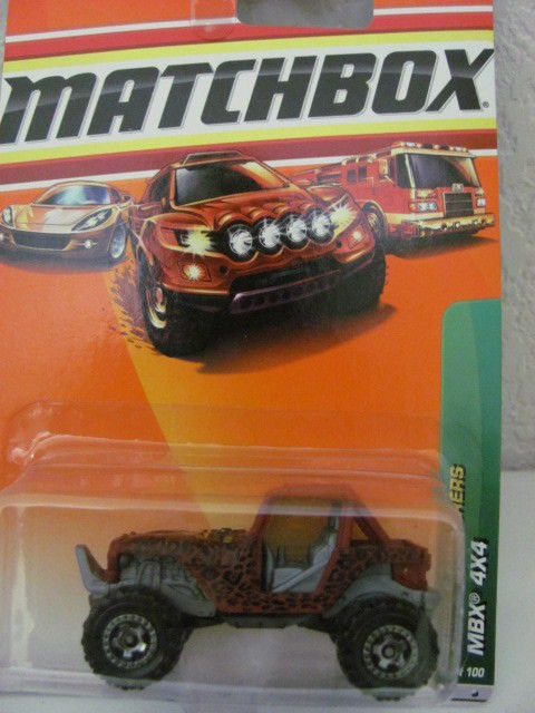 MATCHBOX 2010 JUNGLE EXPLORERS MBX 4X4 #99/100