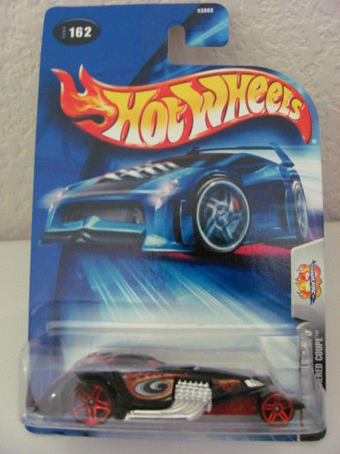 HOT WHEELS 2004 AUTONOMICALS 5/5 HAMMERED COUPE!!!