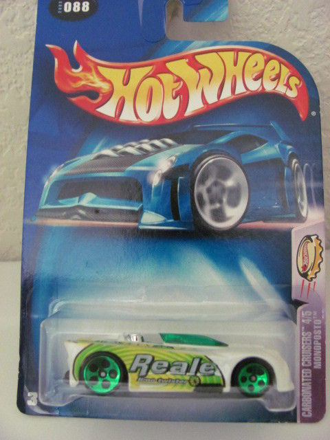 HOT WHEELS 2003 CARBONATED CRUISERS 4/5 - MONOPOSTO
