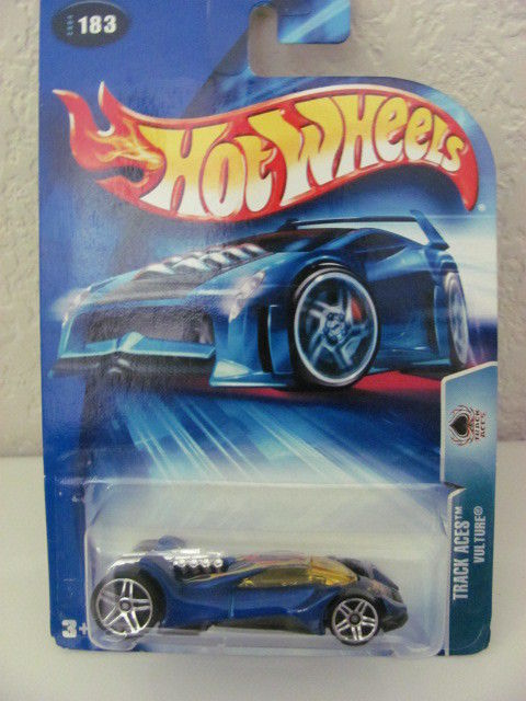 HOT WHEELS 2004 TRACK ACES - VULTURE #183 BLUE
