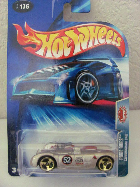 HOT WHEELS 2004 PRIDE RIDES - CUNNINGHAM C4R #176