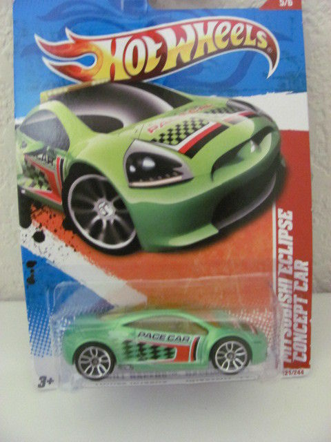 HOT WHEELS 2011 MITSUBISHI ECLIPSE CONCEPT CAR #05/06