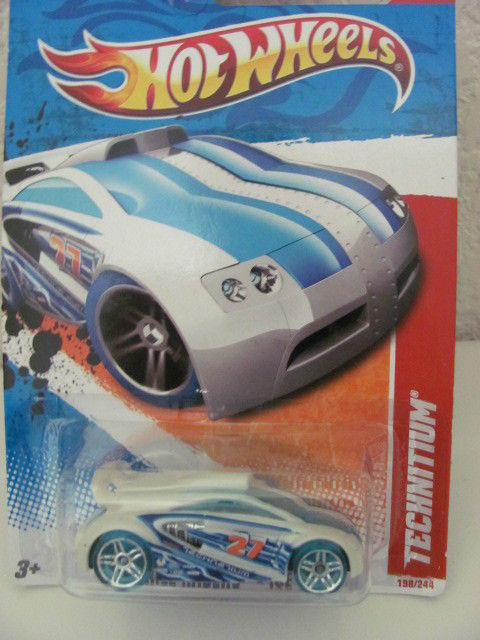 HOT WHEELS 2011 #06/06 TECHNITIUM - THRILL RACERS - ICE