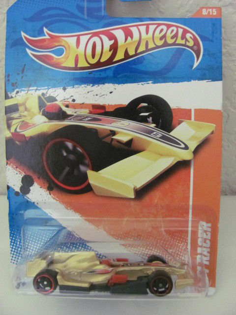 HOT WHEELS 2011 #08/15 F1 RACER - TRACK STARS '11 GOLD