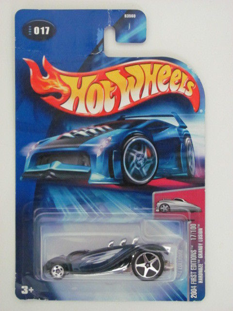 HOT WHEELS 2004 FIRST EDITIONS HARDNOZE GRANDY LUSION