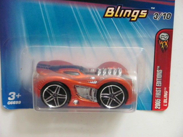 HOT WHEELS 2005 FIRST EDITIONS BLINGS 3/10 L'BLING #033