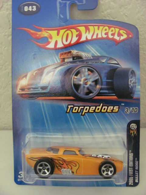 HOT WHEELS 2005 FIRST EDITIONS TORPEDOES BULLET NOSE