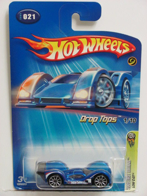 HOT WHEELS 2005 FIRST EDITIONS DROP TOPS - LOW C-GT BLUE