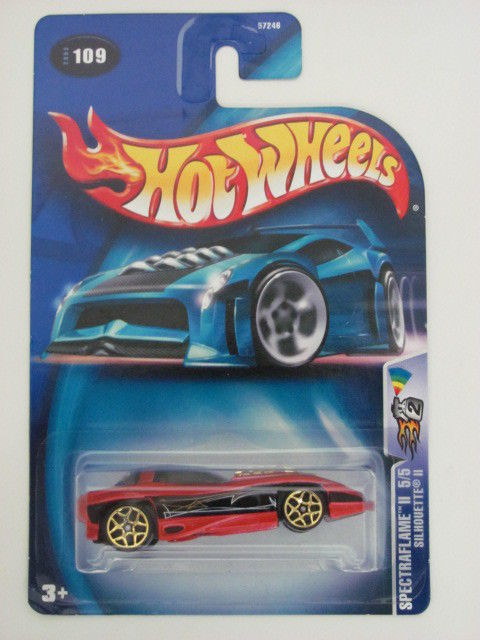 HOT WHEELS 2003 SPECTRAFLAME II 5/5 - SILHOUETTE II