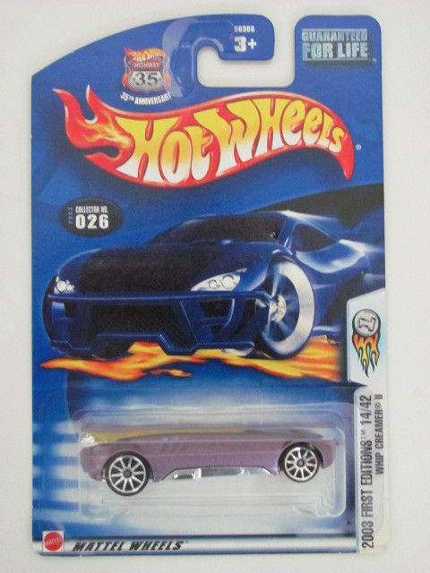 HOT WHEELS 2003 FIRST EDITIONS WHIP CREAMER II #026