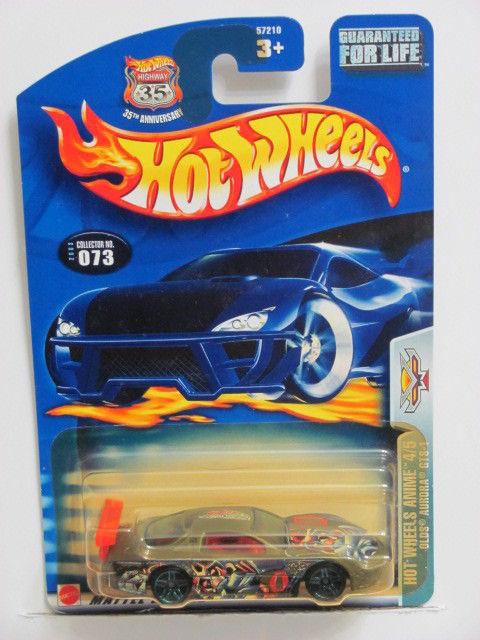 HOT WHEELS 2003 HOT WHEELS ANIME 4/5 OLDS AURORA GTS-1