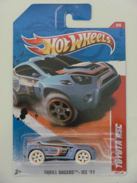 HOT WHEELS 2011 #04/06 TOYOTA RSC THRILL RACERS - ICE