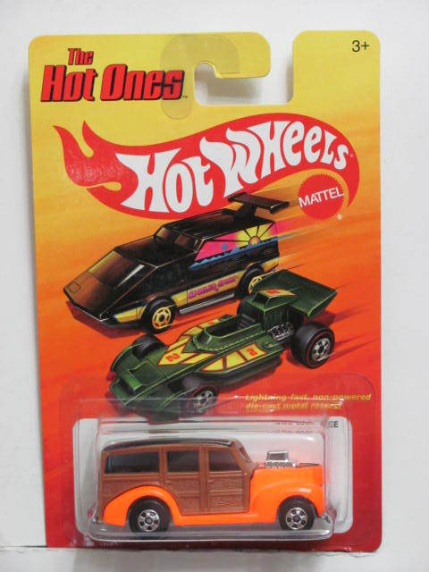 HOT WHEELS 2011 THE HOT ONES 40 WOODIE