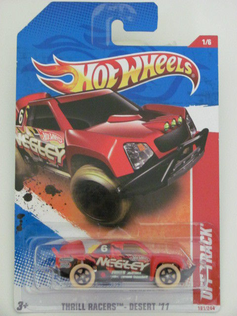 HOT WHEELS 2011 OFF TRACK THRILL RACERS DESERT #1/6