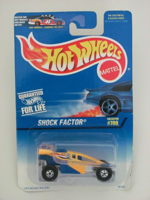 HOT WHEELS 1997 SHOCK FACTOR COLLECTOR #700 MIB
