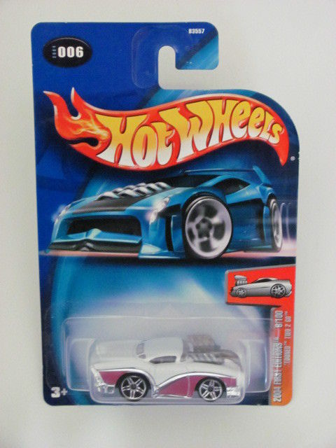 "HOT WHEELS 2004 FIRST EDITIONS #6/100 ""TOONED"" TWO 2 GO"