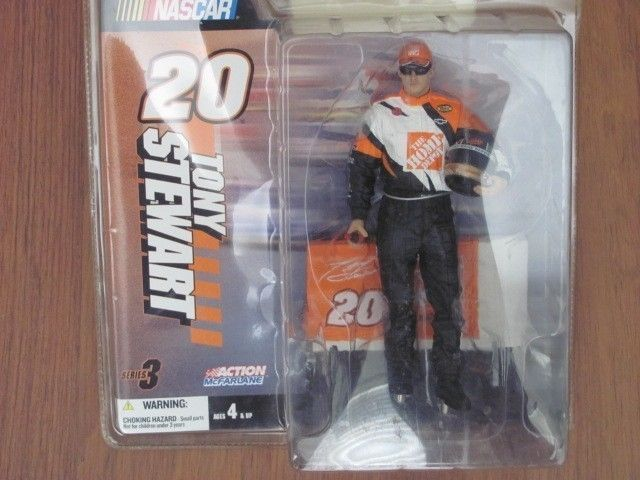 NASCAR 20 TONY STEWART FIGURE SERIES 3 ACTION McFARLANE