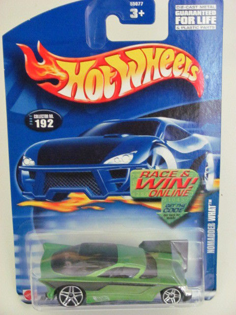 HOT WHEELS 2002 NOMADDER WHAT #192 GREEN