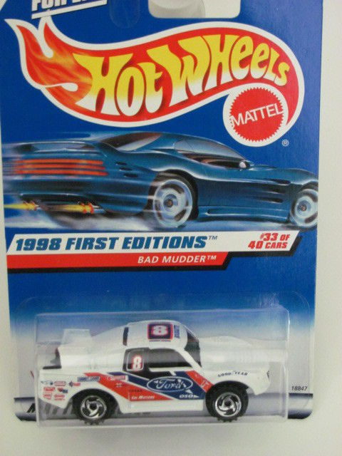 HOT WHEELS 1998 FIRST EDITIONS #662 BAD MUDDER #33/40