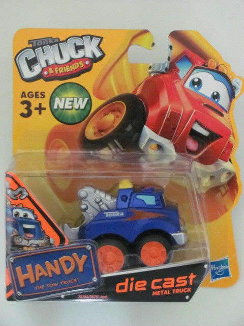 TONKA CHUCK & FRIENDS HANDY THE TOW TRUCK