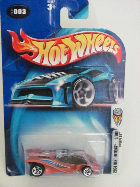 HOT WHEELS 2004 FIRST EDITIONS #003 SWOOPY DO ORANGE