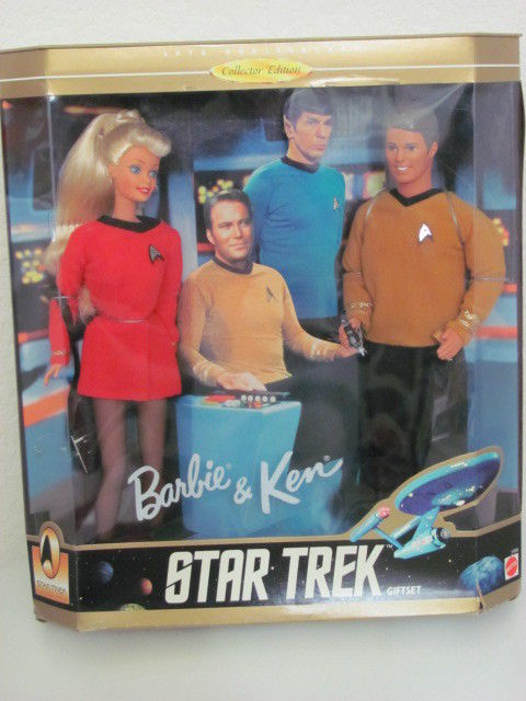 STAR TREK BARBIE AND KEN BY MATTEL 1996 COLLECTOR EDITION