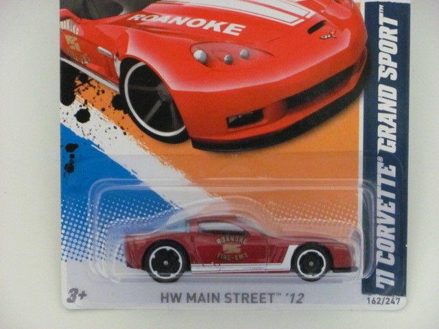 HOT WHEELS 2012 HW MAIN STREET 2/10 '11 CORVETTE GRAND SPORT