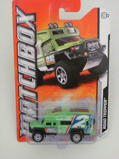 MATCHBOX 2011 MBX ARCTIC ROAD TRIPPER #02/10 GREEN