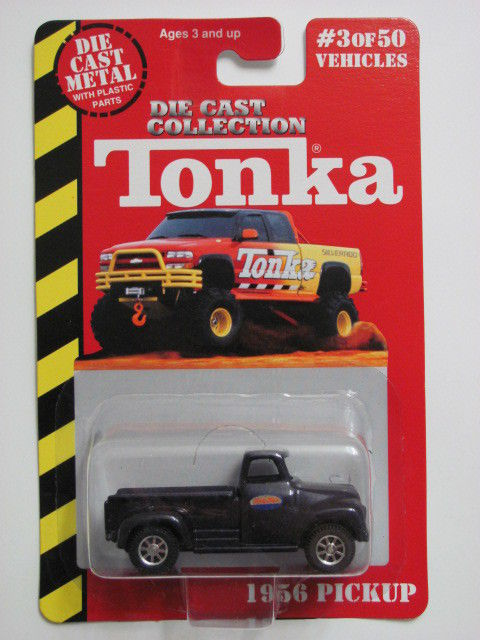 MAISTO TONKA #03 OF 50 DIE CAST METAL 1956 PICKUP BLUE