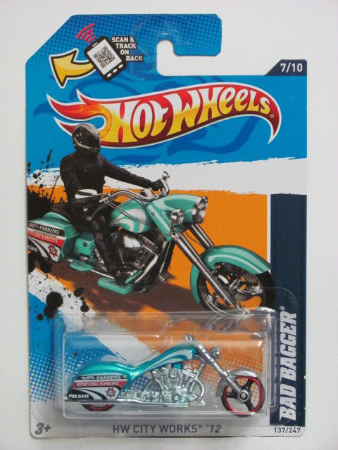 HOT WHEELS 2012 HW CITY WORKS #7/10 BAD BAGGER