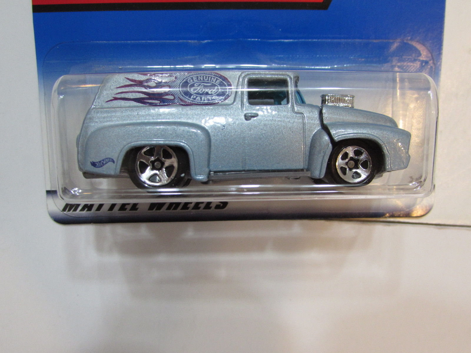 HOT WHEELS 1999 '56 FORD TRUCK #927 BLUE
